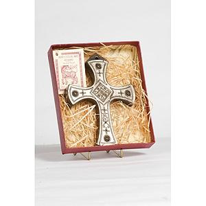 Celtic Cross of Salvation (Irish Bronze Hanging Mount)