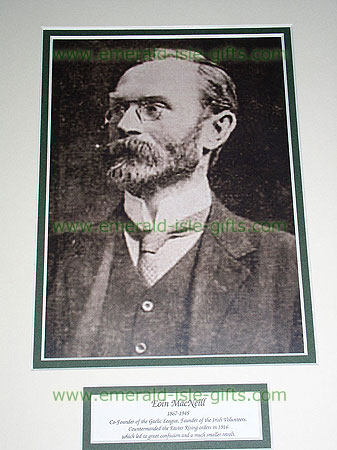 Eoin McNeill Leader Irish Volunteers