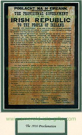 Irish Propaganda Posters Easter Rising 1916 Proclamation
