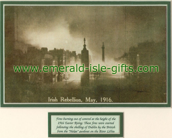 Dublin Burning Easter Rising 1916