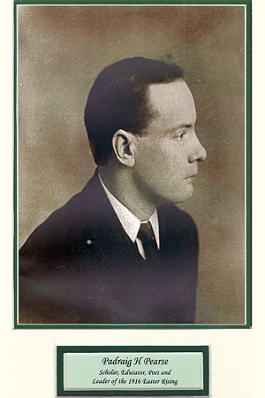Padraig Pearse Portrait Easter 1916