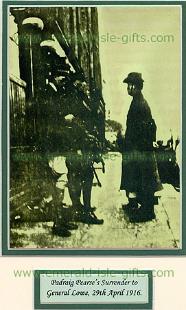 Easter Rising 1916 Pearse surrenders