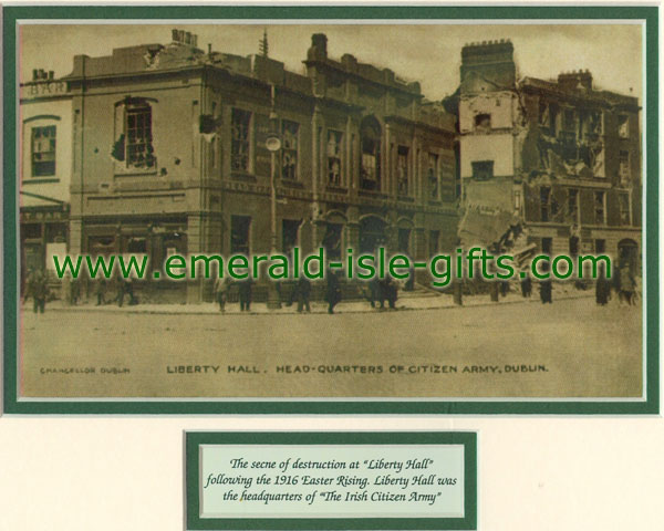 Easter Rising 1916 Liberty Hall, Dublin