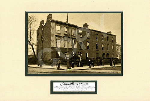 Clanwilliam House, Easter Rising 1916
