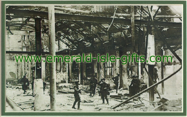 Interior GPO after Easter Rising