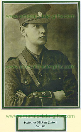 Young Michael Collins Portrait