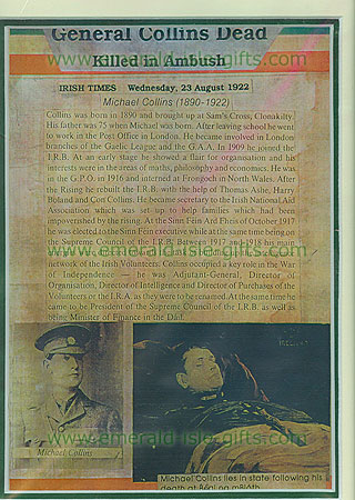Michael Collins Irish Times