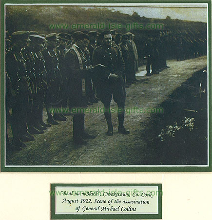 Beal Na Bláth prayers for Michael Collins