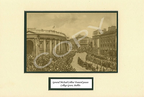 Michael Collins Funeral Procession