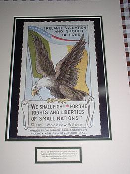 Irish-American Republican Label (Early 20c propaganda poster)