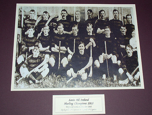 Laois All-Ireland Hurling Champions 1915