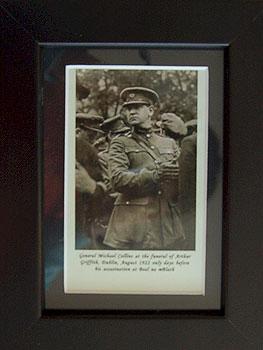 Irish Rebel Patriot Michael Collins (Framed Miniature Picture)