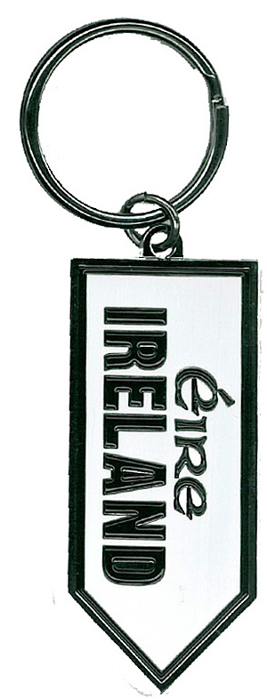 Ireland Road Sign Keyring