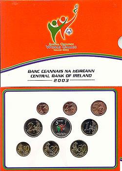 2003 Ireland Special Olympics Euro Coin Set