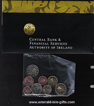 2004 Ireland Coin Fair Euro Pack
