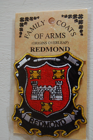 Embroidered Heraldic Patches Redmond Embroidered Patch