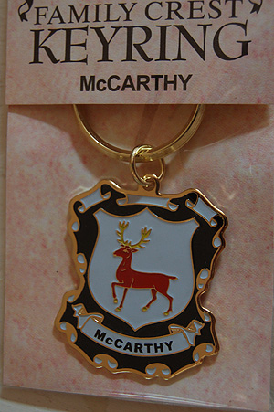McCarthy Keyring Keychain - Coat of Arms (Celebrate your Heritage)