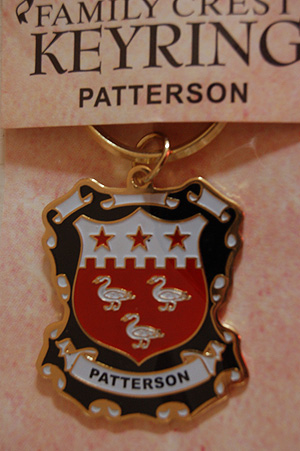 Patterson Coat Of Arms Rings