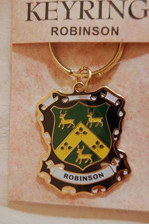 Keyrings Family Coat Of Arms Robinson Keyring Keychain