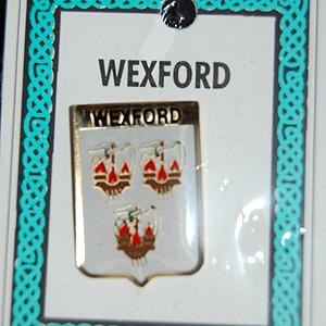 Wexford County Irish Pin Lapel Clip Badge (The Model Men)