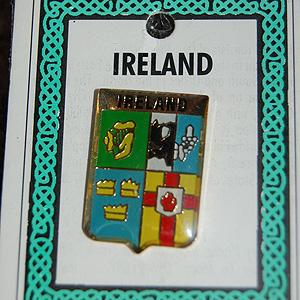 Four Provinces of Ireland Pin Lapel (Clip Badge)