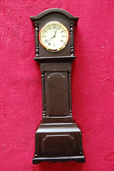 "Grandfather Irish Turf Clock 6"" Tall"