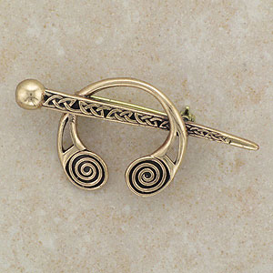Celtic Warrior Viking Brooch