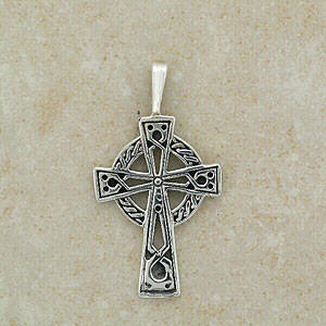 A Traditional Celtic Cross Pendant