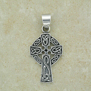 Celtic Cross Pendant inspired by Ireland