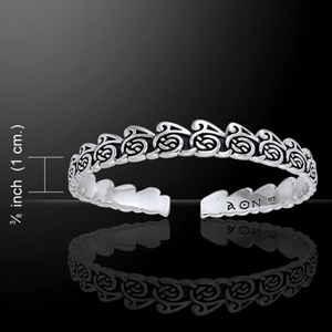 Cari Buziak Celtic Waves Silver Bangle