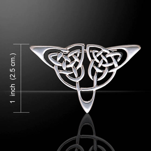 Celtic Knot Silver Sterling Brooch