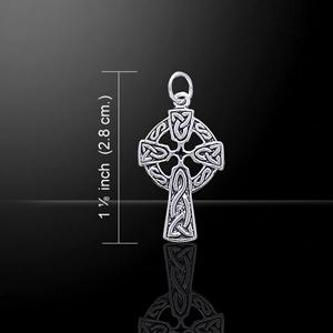 Faith Celtic Cross Silver Charm (Makes a beautiful gift)