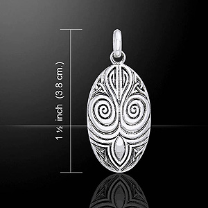 Celtic Maori Sterling Silver Pendant