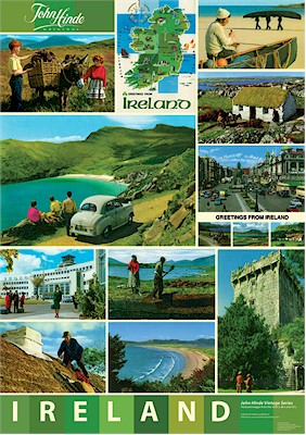Iconic Images of Ireland A3 Poster