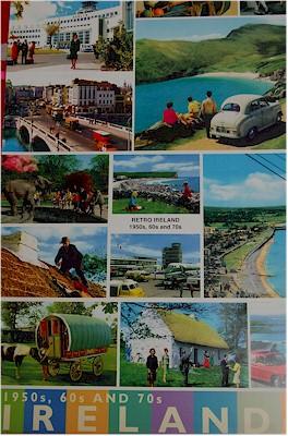 John Hinde Irish Postcards A3 Poster (Retro Ireland of 1950