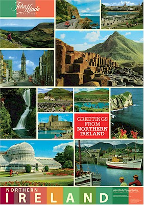 Northern Ireland Images A3 Poster