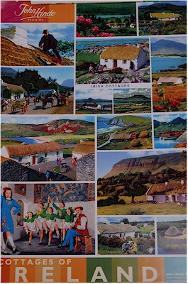 Cottages of Ireland Poster by John Hinde