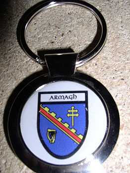 Armagh County Souvenir Keyring