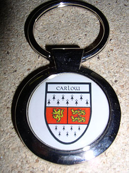 Carlow County Souvenir Keyring