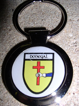 Donegal County Souvenir Keyring