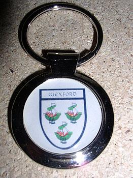 Wexford County Souvenir Keyring
