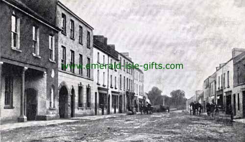Ballinamore - Leitrim - Main St (circa 1905)