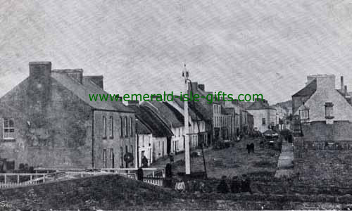 Ballinamore - Leitrim - B/W - Main St