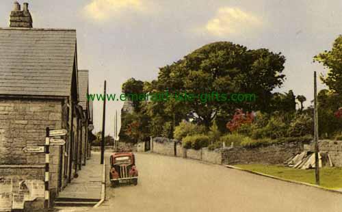 Manorhamilton - Leitrim - Castle Hill (circa 1950)