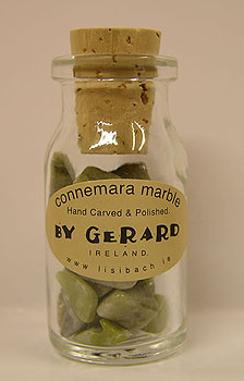 Miniature Corked Bottle of Connemara
