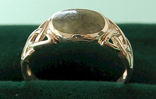 Ladies Connemara Celtic Ring
