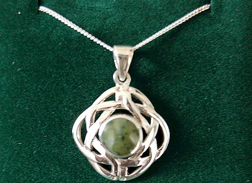 Connemara Marble Celtic Shield