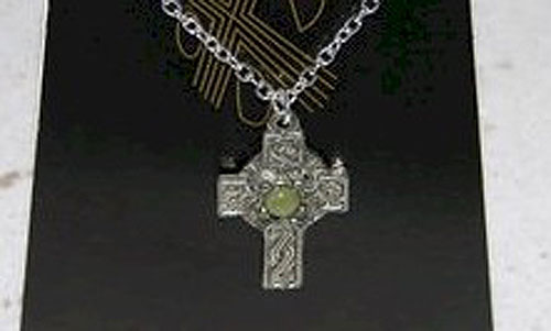 Irish Celtic Cross + Chain