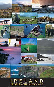 People & Landscapes Of Ireland Poster
