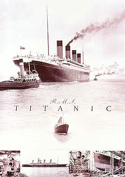 R.M.S Titanic (White Star Liner) Poster